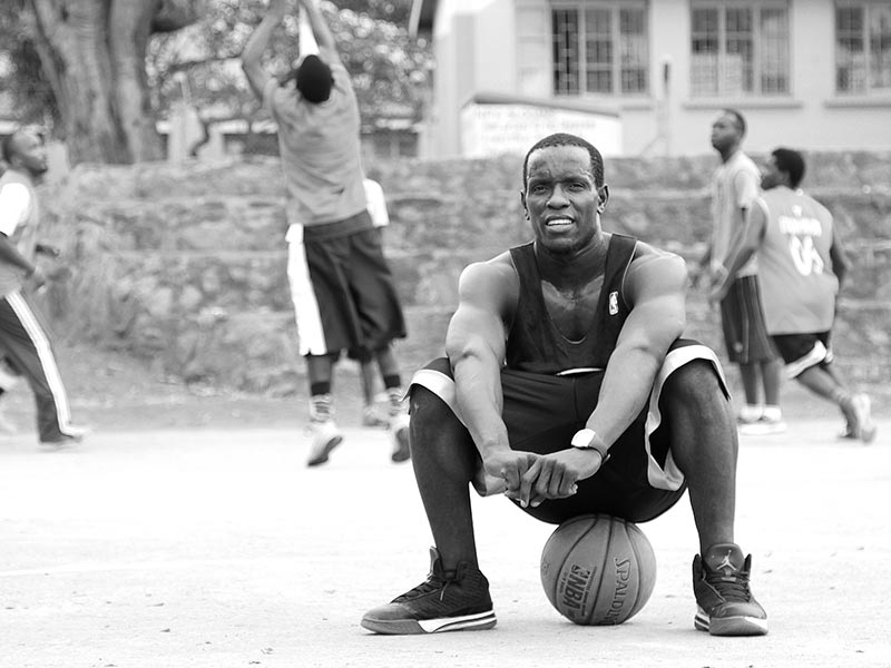 Basketball as a source of exercise