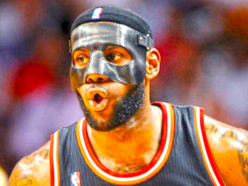 Why do NBA players Wear Mask?
