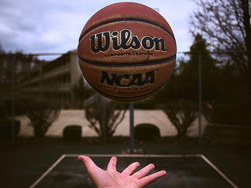 Different types of basketballs